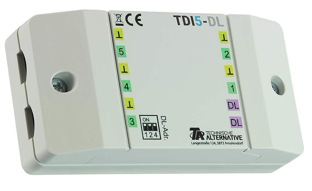 Technische Alternative DL-Erweiterungsmodul für 5 Eingänge