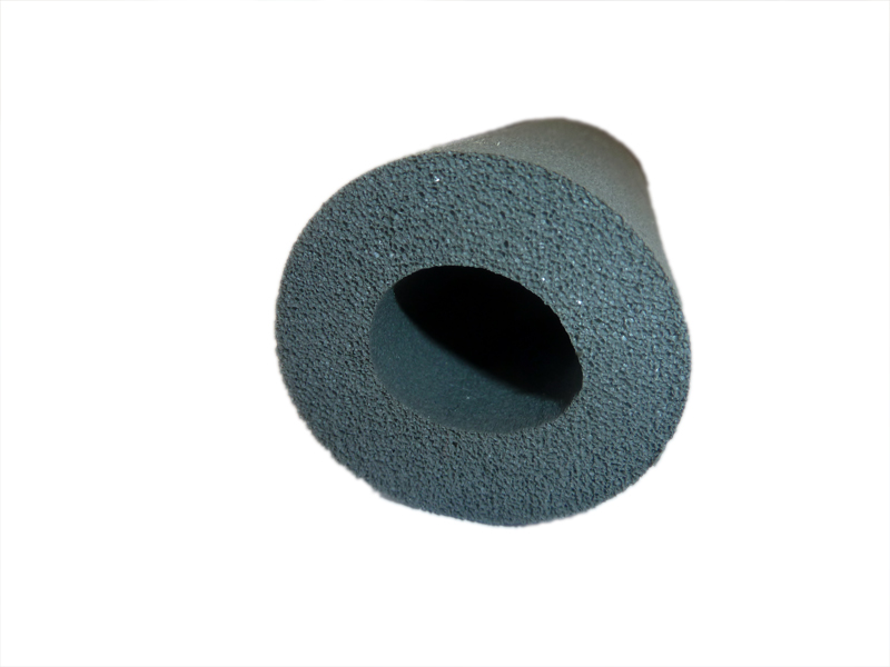 """2 Meter Kautschuk-Isolierung für 1/4"""" oder 15 mm Rohr Dämmschichtstärke 10 mm - EnEV 50%"""