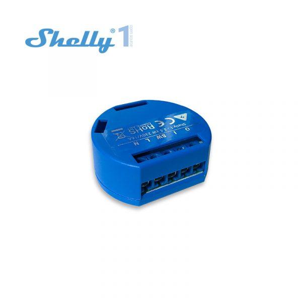 Shelly 1 Open Source WiFi, Smart WiFi Relais Switch, potentialfreies WiFi Relais, WLAN Schalter, Alexa und Google Home