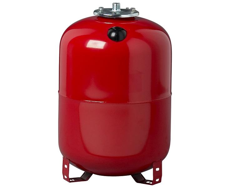 Ausdehnungsgefäß für Heizung 80 Liter mit Füßen