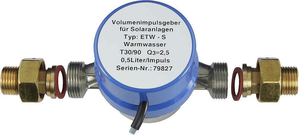 Technische Alternative Volumenimpulsgeber VIG 0,3 - 40 L / min, 0,5 l / Impuls