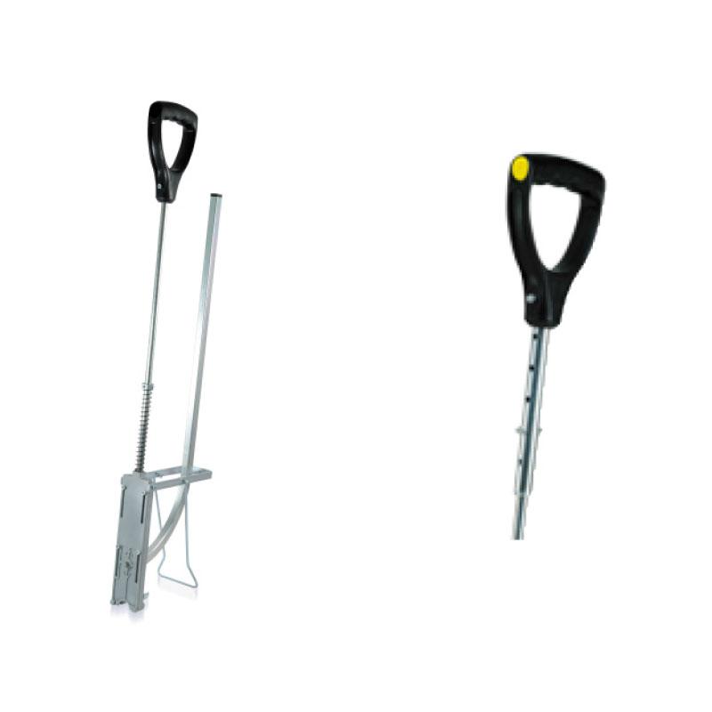 Tackernadelsetzgerät / Tackergerät für Rohrsysteme wie Fubodenheizung