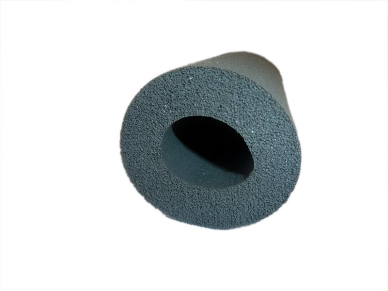 """2 Meter Kautschuk-Isolierung für 1/2"""" oder 20-22 mm Rohr Dämmschichtstärke 10 mm - EnEV 50%"""
