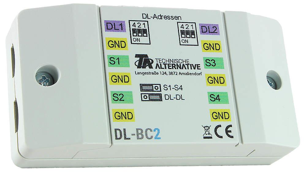 Technische Alternative DL-Buskoppler / Sensorerweiterung
